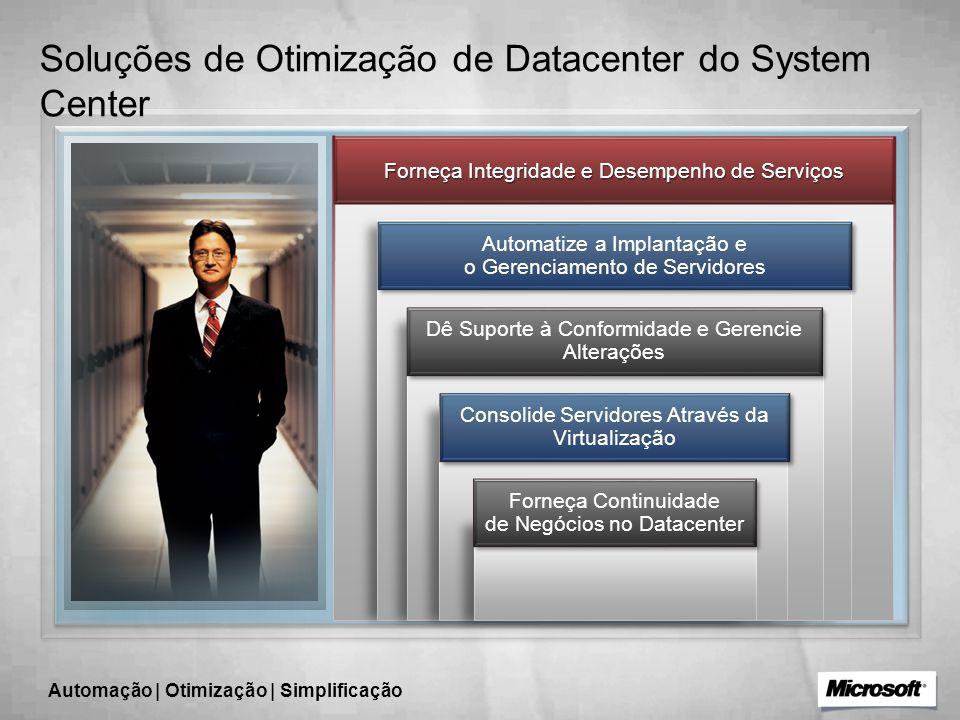 Soluções de Otimização de Datacenter do System Center