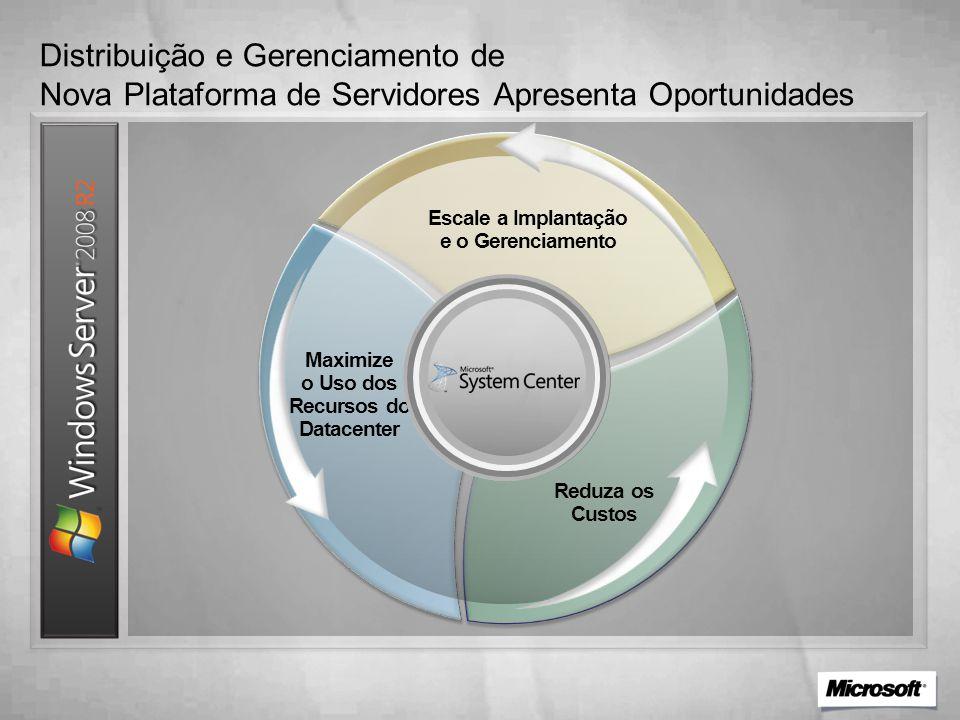Distribuição e Gerenciamento de Nova Plataforma de Servidores Apresenta Oportunidades
