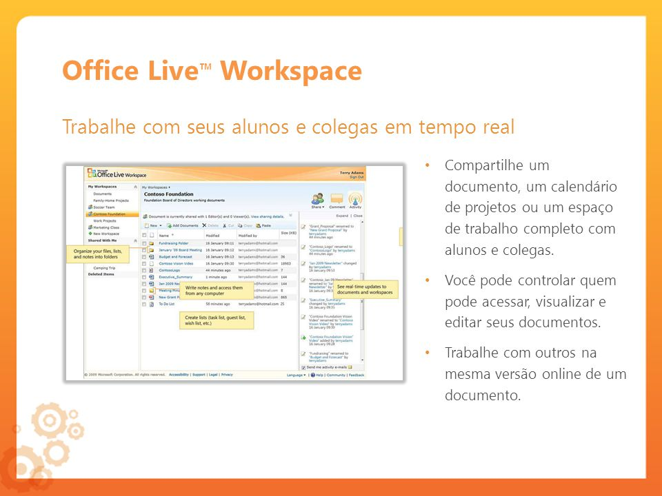 Office Live™ Workspace