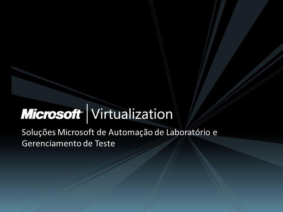Soluções Microsoft de Automação de Laboratório e Gerenciamento de Teste