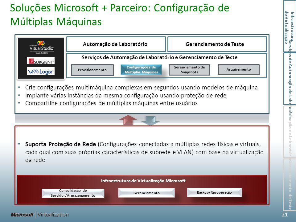 Soluções Microsoft + Parceiro: Configuração de Múltiplas Máquinas