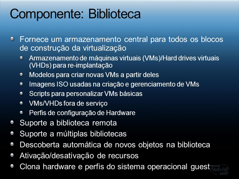 Componente: Biblioteca
