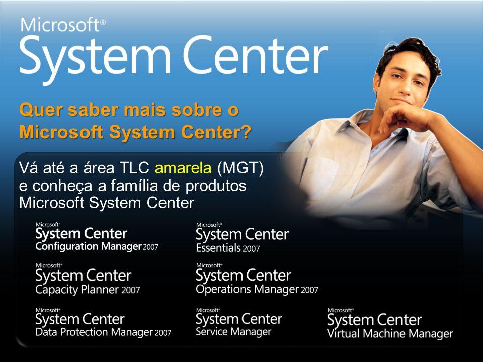 Quer saber mais sobre o Microsoft System Center