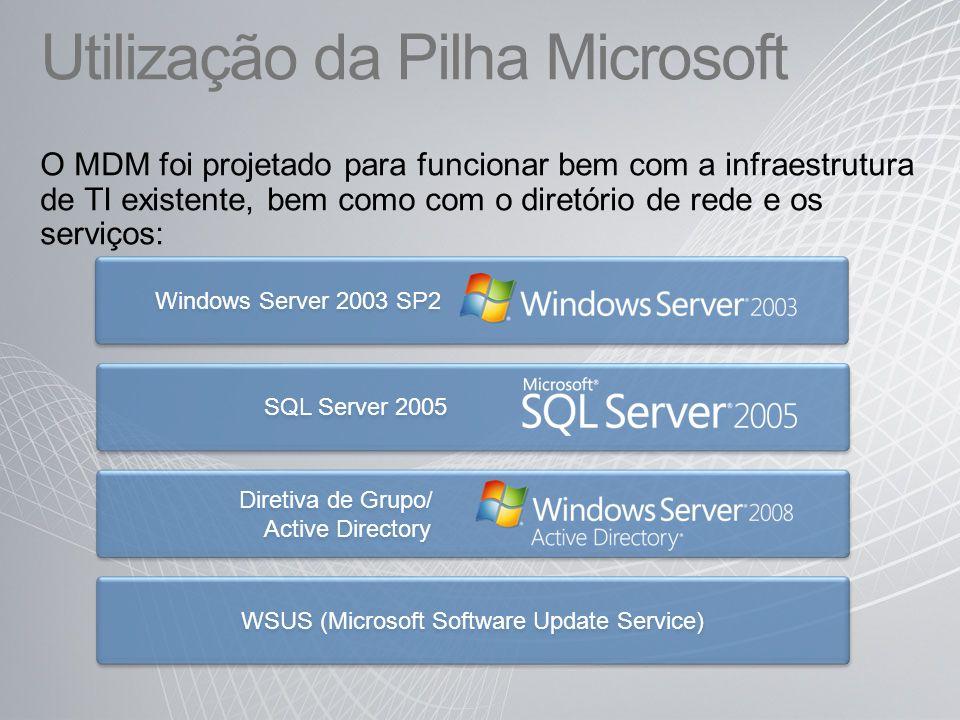 Utilização da Pilha Microsoft