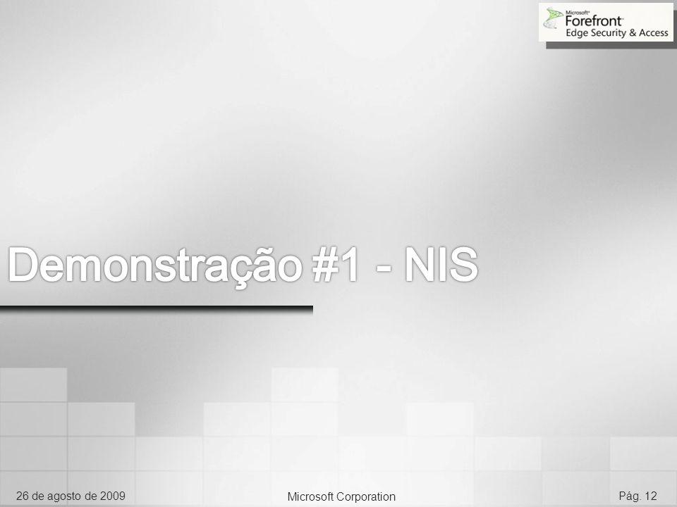 Demonstração #1 - NIS