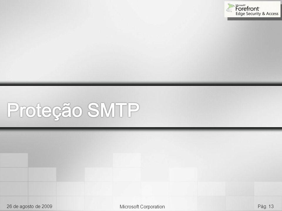 Proteção SMTP