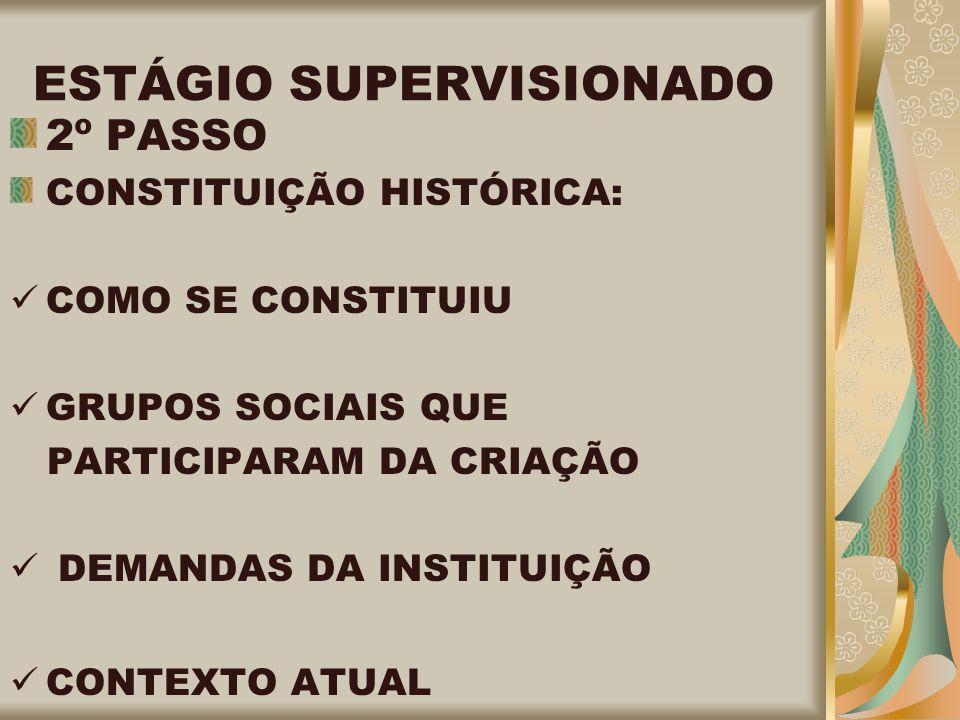ESTÁGIO SUPERVISIONADO
