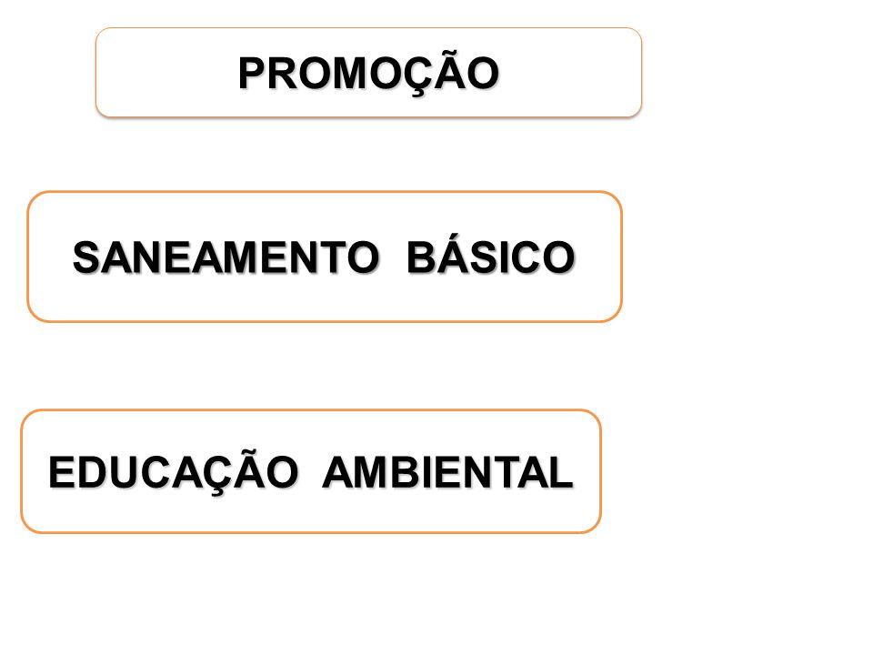 PROMOÇÃO SANEAMENTO BÁSICO EDUCAÇÃO AMBIENTAL