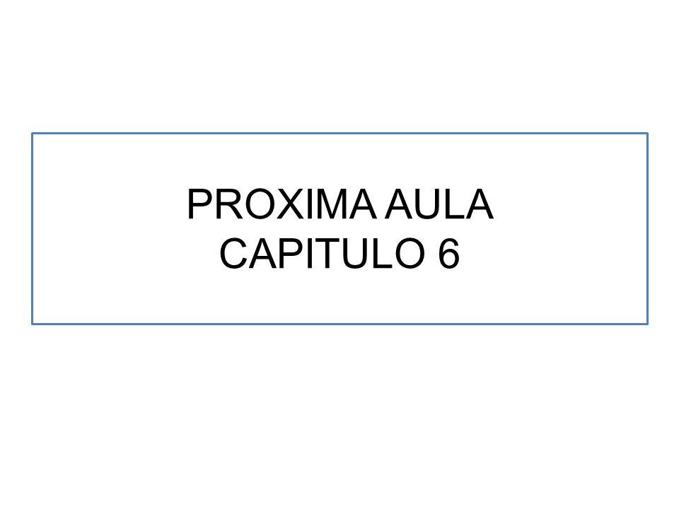 PROXIMA AULA CAPITULO 6