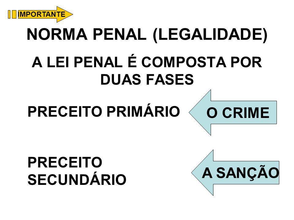 NORMA PENAL (LEGALIDADE)