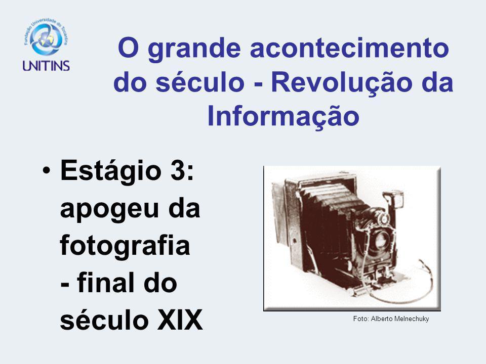 O grande acontecimento do século - Revolução da Informação