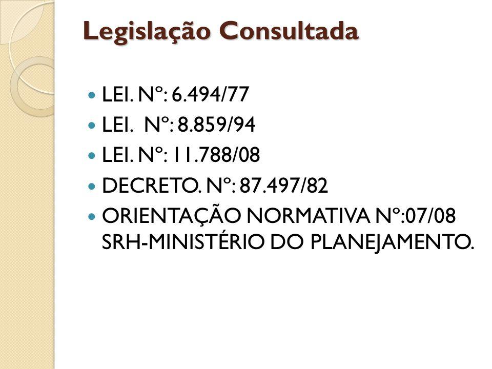 Legislação Consultada