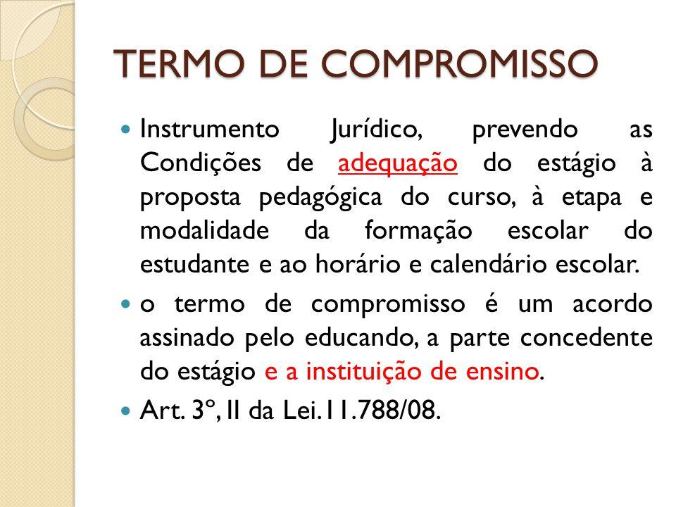 TERMO DE COMPROMISSO