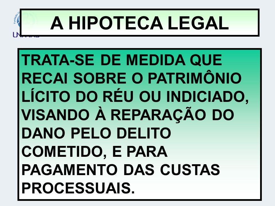 A HIPOTECA LEGAL