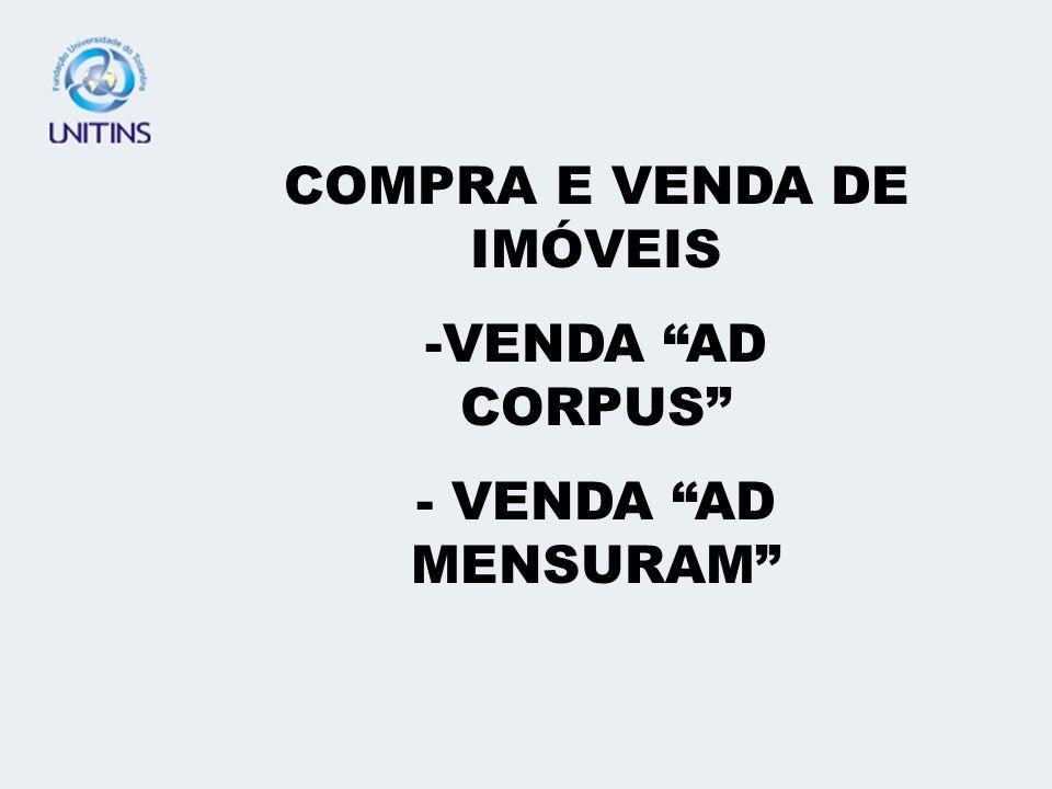 COMPRA E VENDA DE IMÓVEIS