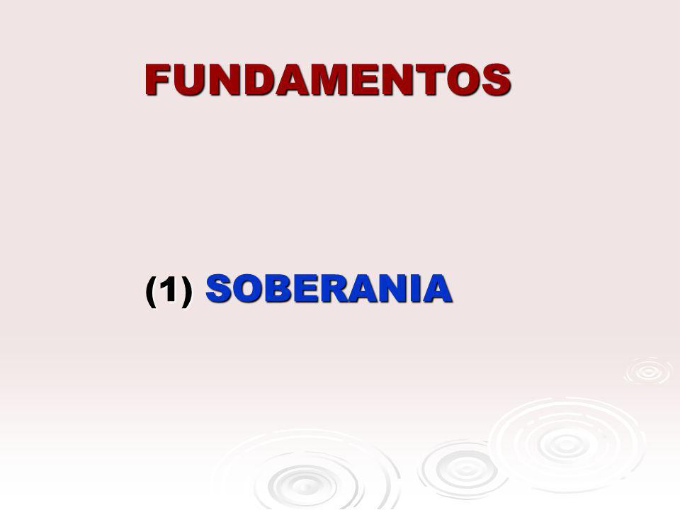 FUNDAMENTOS (1) SOBERANIA