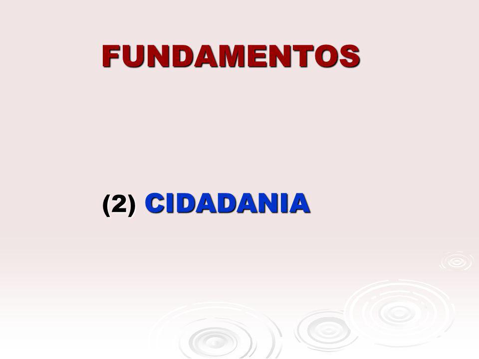 FUNDAMENTOS (2) CIDADANIA