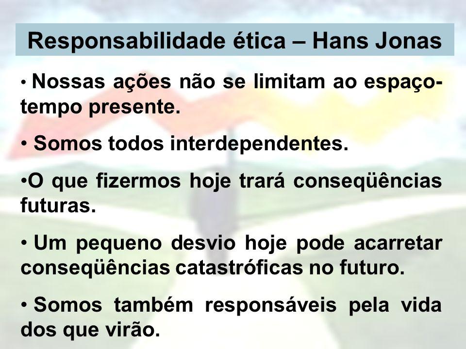 Responsabilidade ética – Hans Jonas