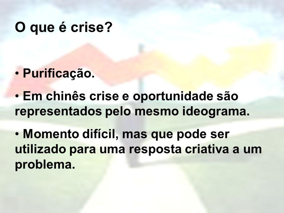 O que é crise Purificação.