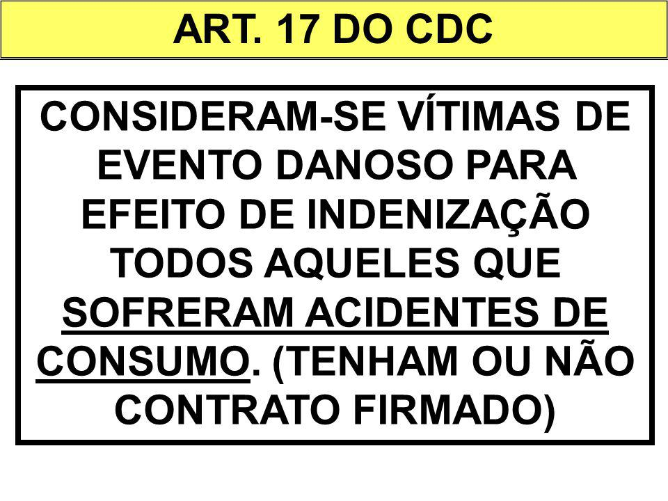ART. 17 DO CDC