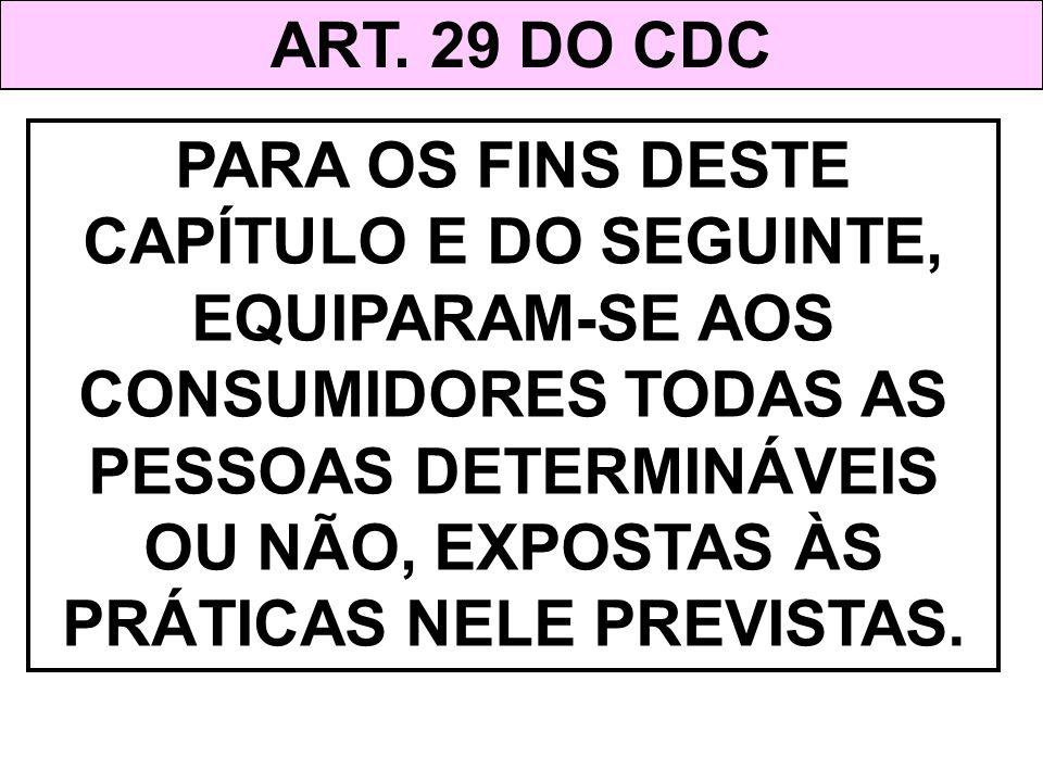 ART. 29 DO CDC