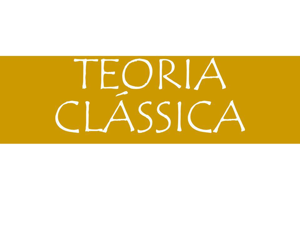 TEORIA CLÁSSICA