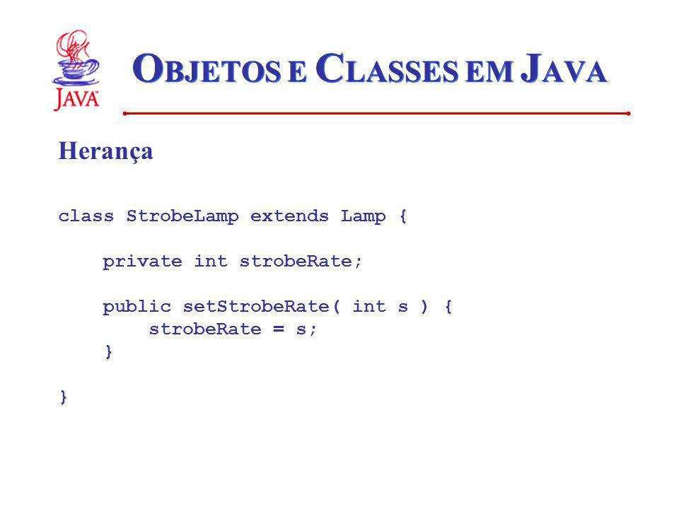OBJETOS E CLASSES EM JAVA