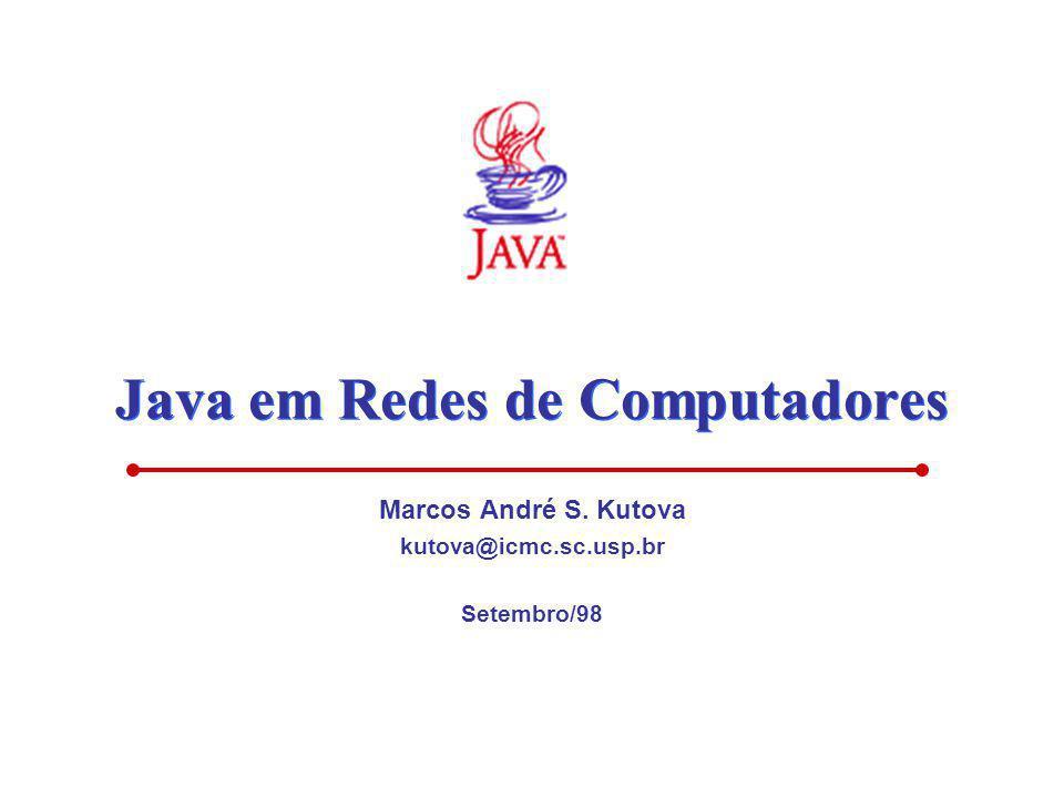 Java em Redes de Computadores