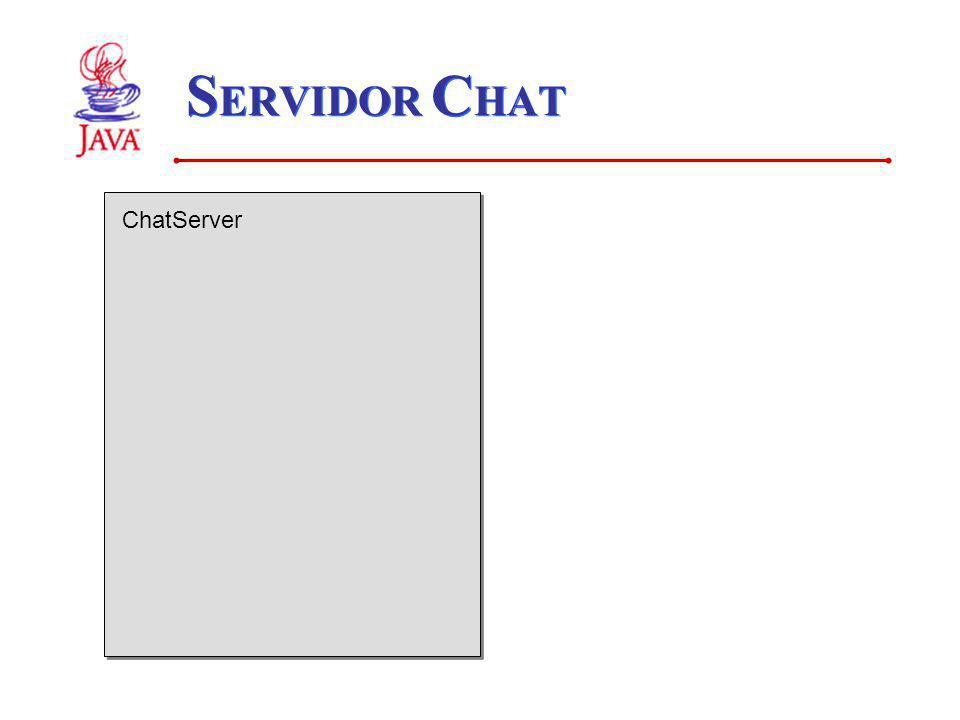 SERVIDOR CHAT ChatServer
