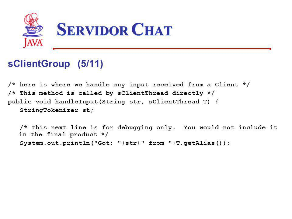 SERVIDOR CHAT sClientGroup (5/11)