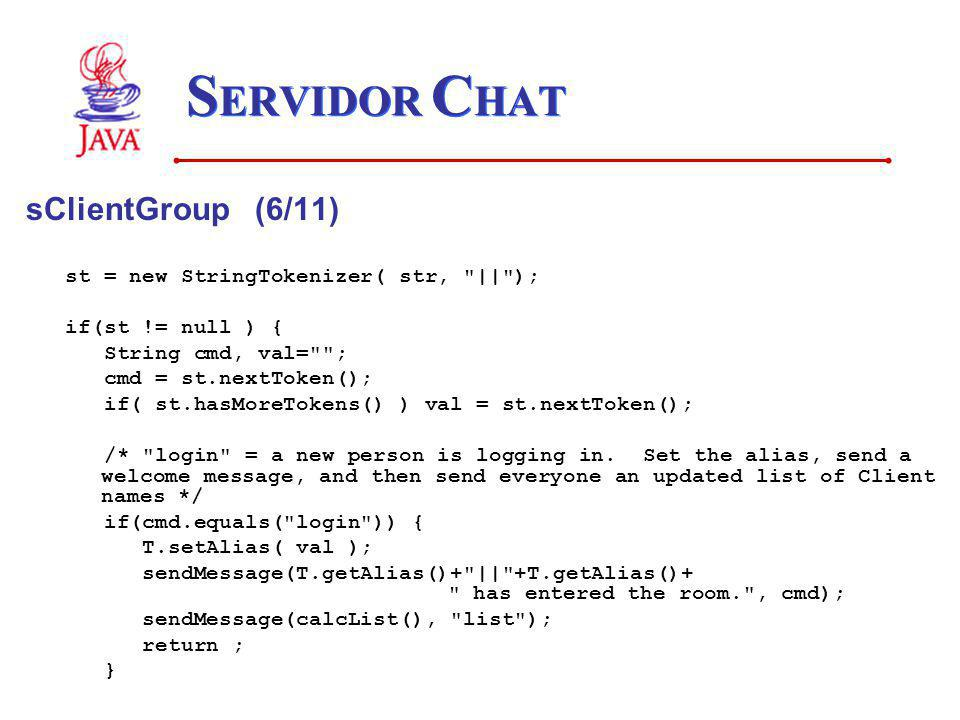 SERVIDOR CHAT sClientGroup (6/11)