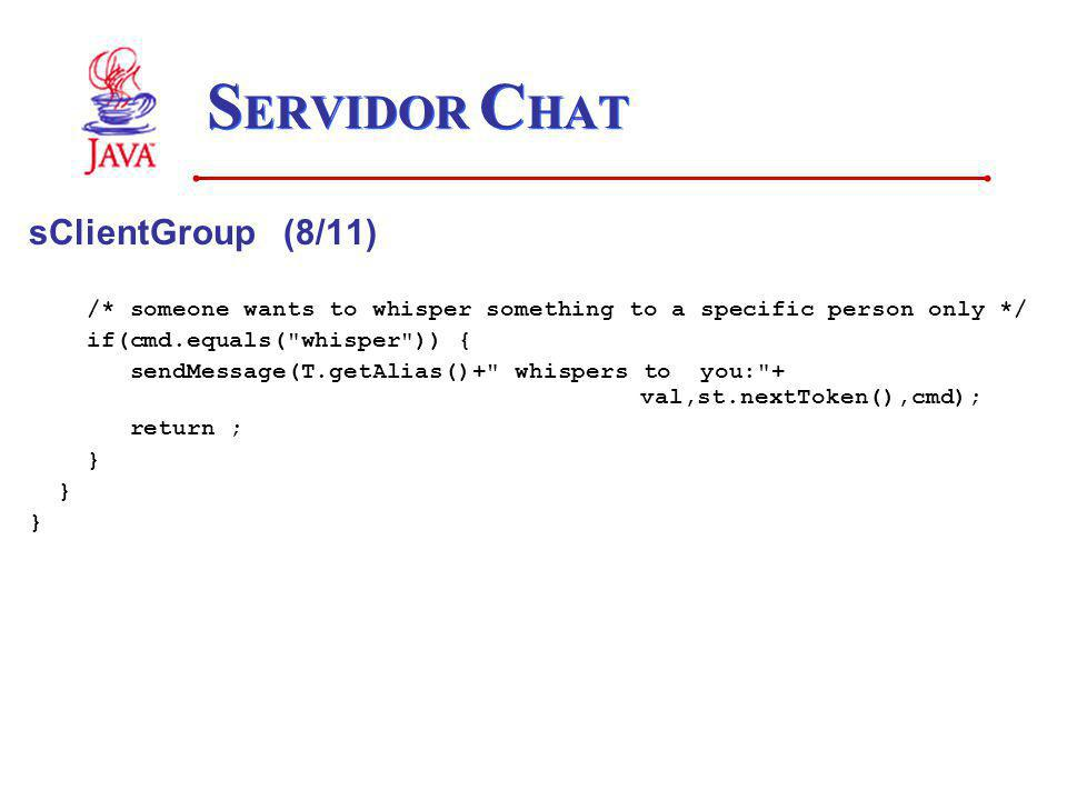 SERVIDOR CHAT sClientGroup (8/11)