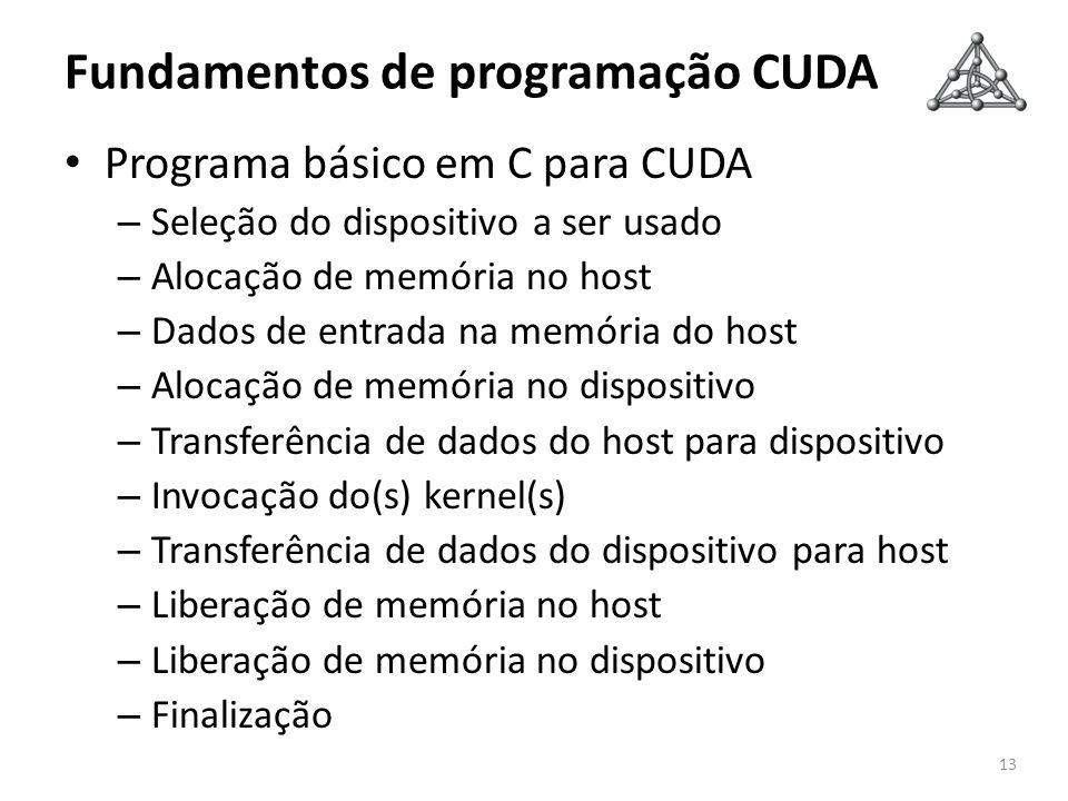 Fundamentos de programação CUDA