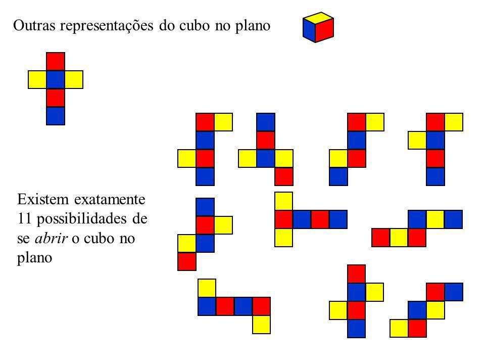 Outras representações do cubo no plano