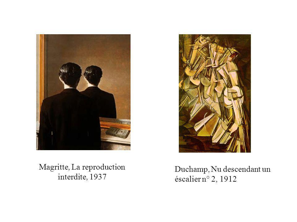 Magritte, La reproduction interdite, 1937