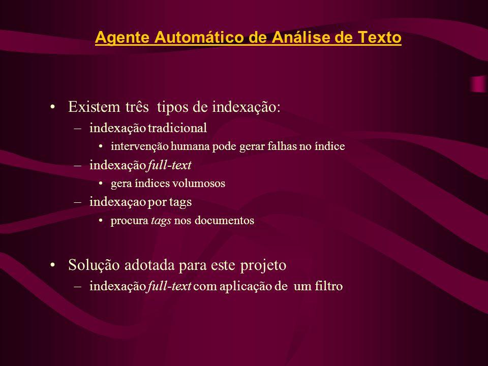Agente Automático de Análise de Texto
