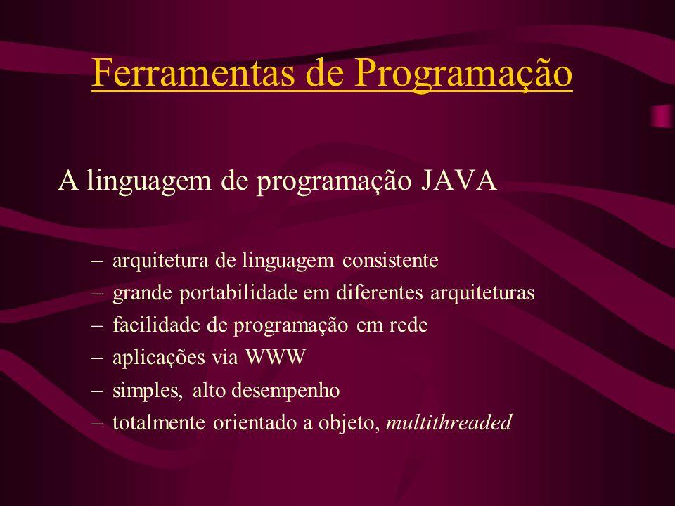 Ferramentas de Programação