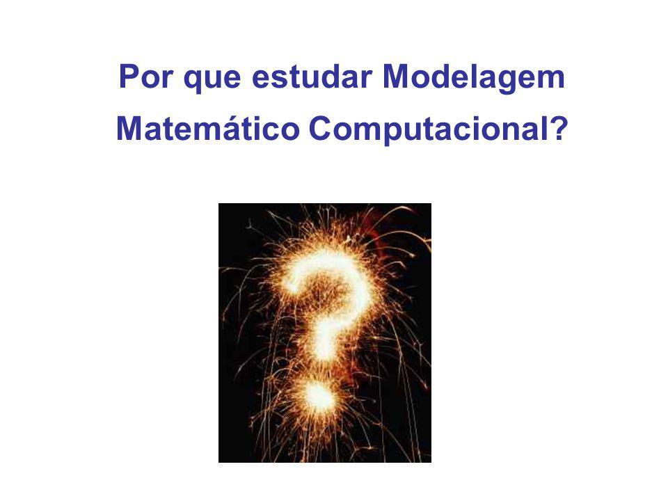 Por que estudar Modelagem Matemático Computacional