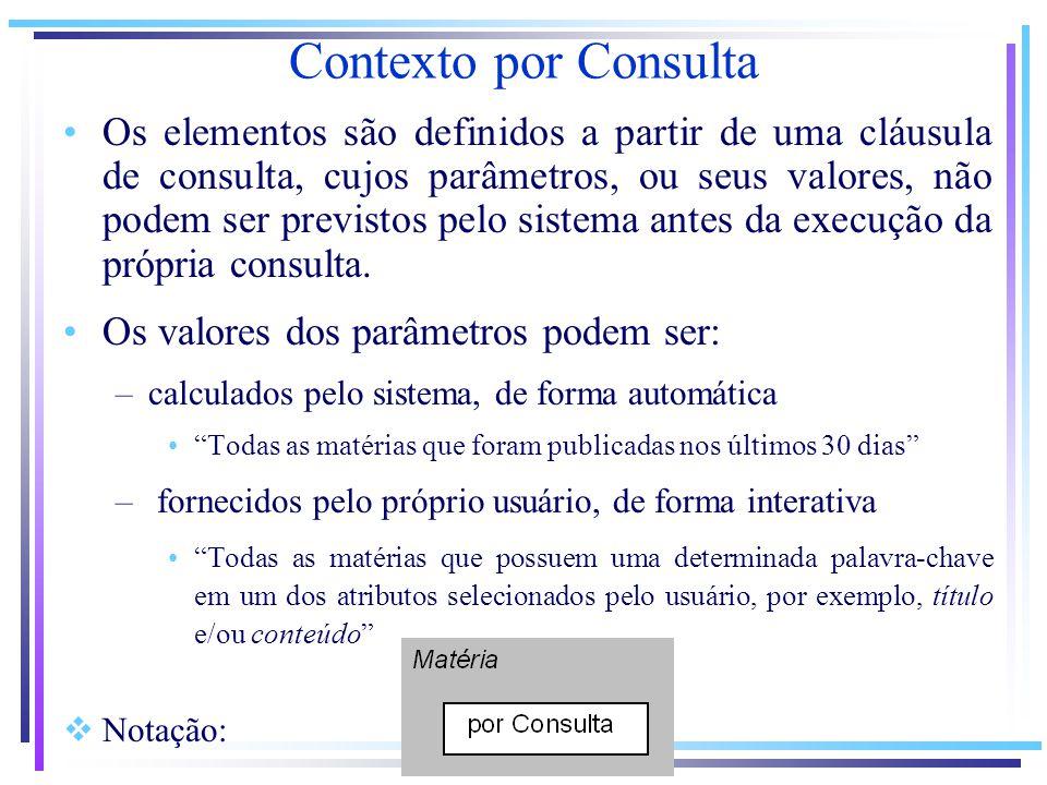 Contexto por Consulta