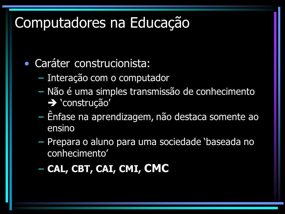 Computadores na Educação