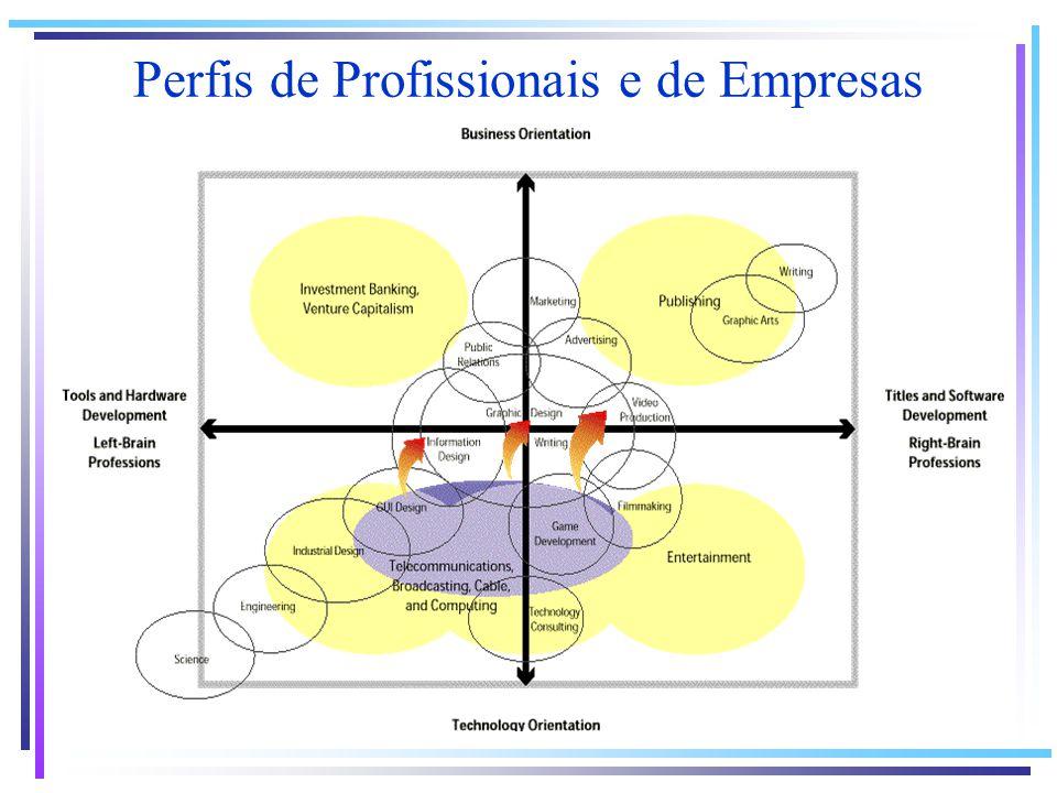 Perfis de Profissionais e de Empresas