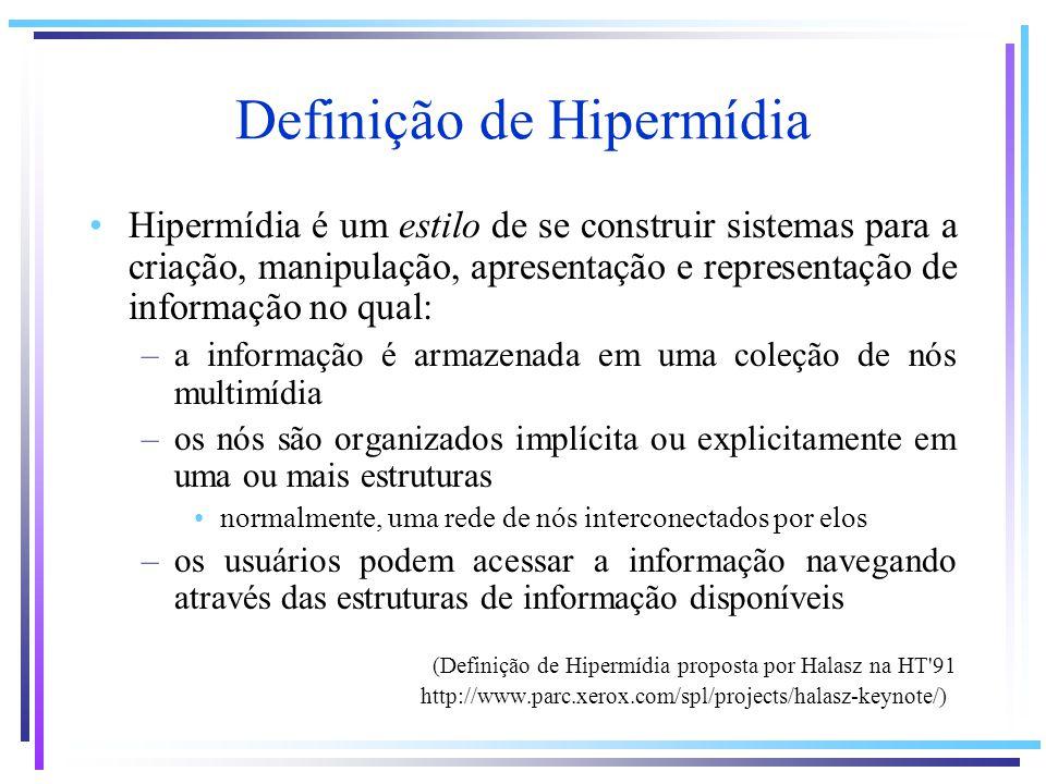 Definição de Hipermídia