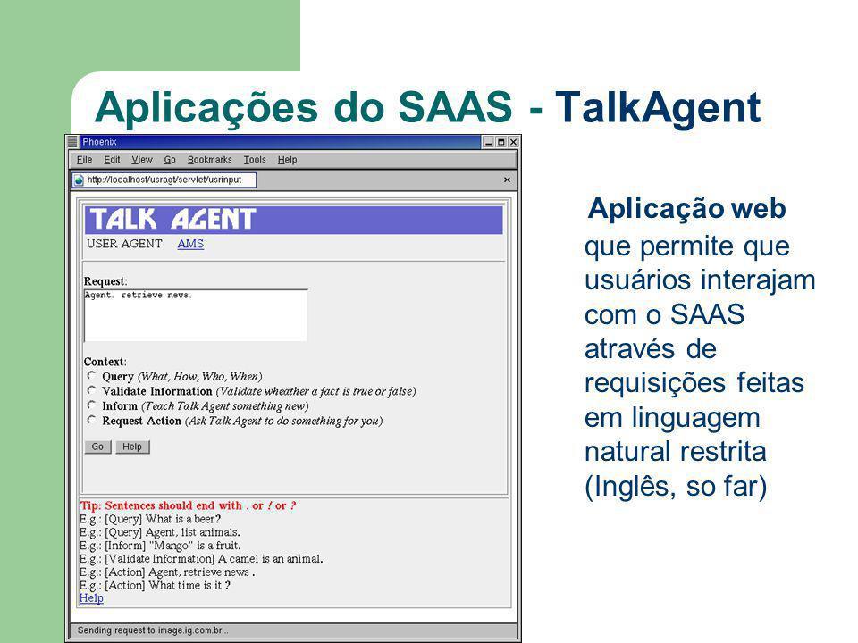 Aplicações do SAAS - TalkAgent