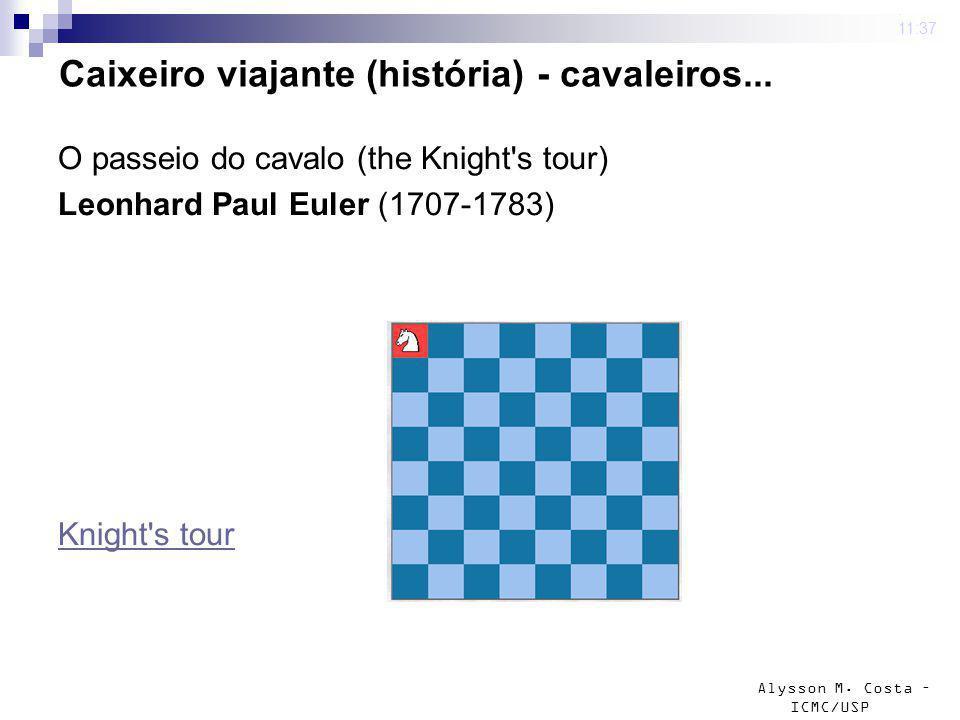 Caixeiro viajante (história) - cavaleiros...