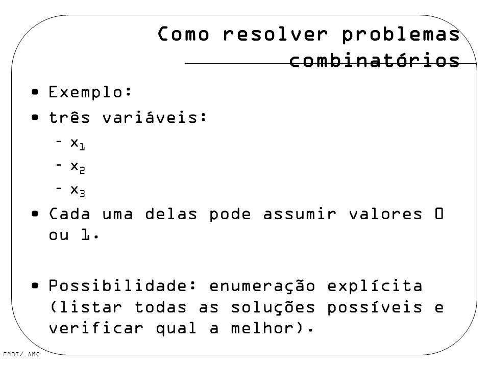 Como resolver problemas combinatórios