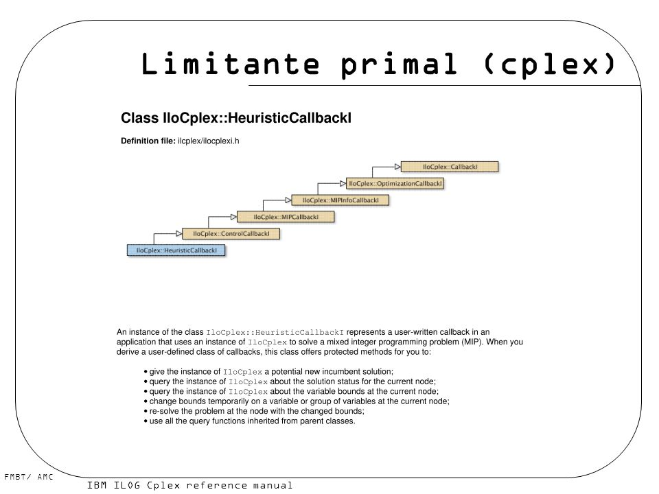 Limitante primal (cplex)