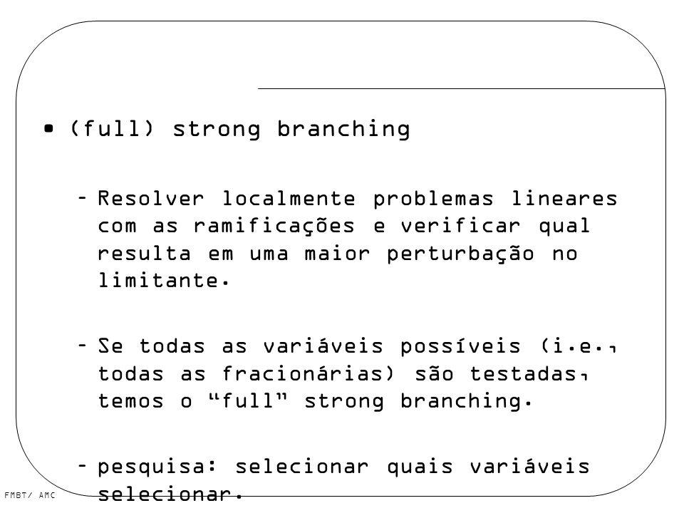 (full) strong branching