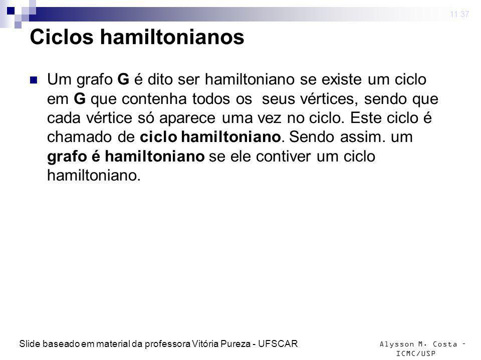 4 mar 2009 . 11:37 Ciclos hamiltonianos.