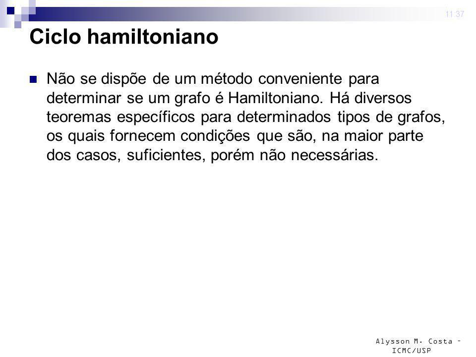 4 mar 2009 . 11:37 Ciclo hamiltoniano.
