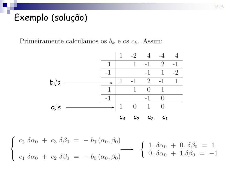 22 Sep 2008 . 16:43 Exemplo (solução) bk's ck's c4 c3 c2 c1